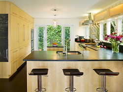 Thumbnail Image of light filled kitchen in contemporary home remodel designed by residential architecture firm Donnally Architects in the neighborhood of Magnolia in Seattle, Washington